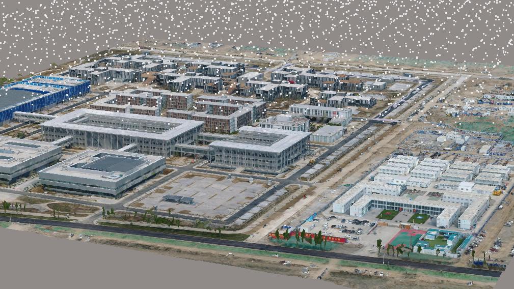 雄安市民中心实景项目