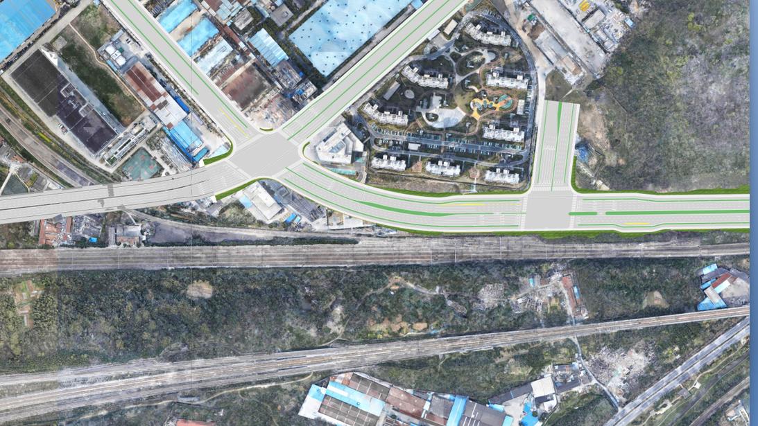 道路设计施工与实景建模