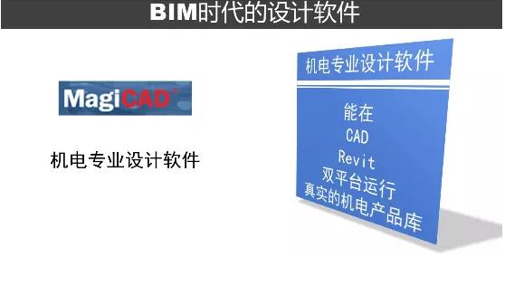 BIM机电设计软件