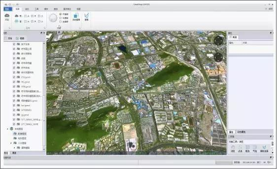实景三维地图在智慧城市上的应用