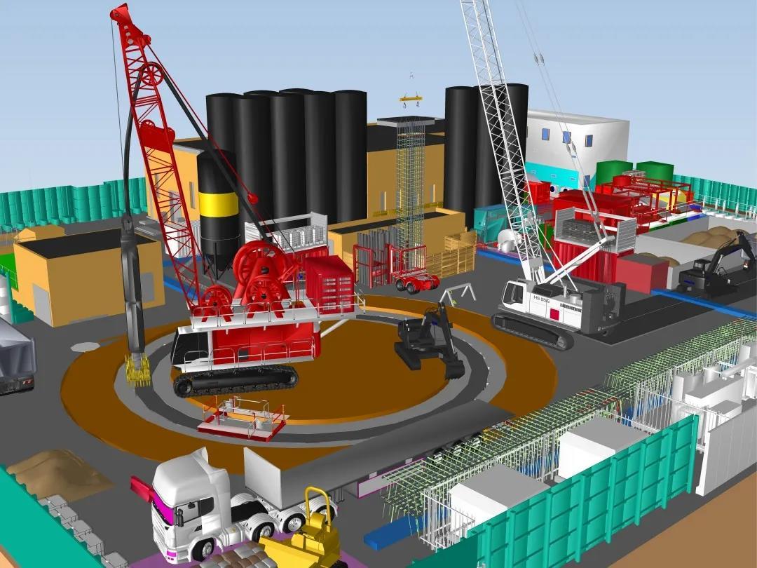 4D施工规划助力英国最大的水行业基础设施项目