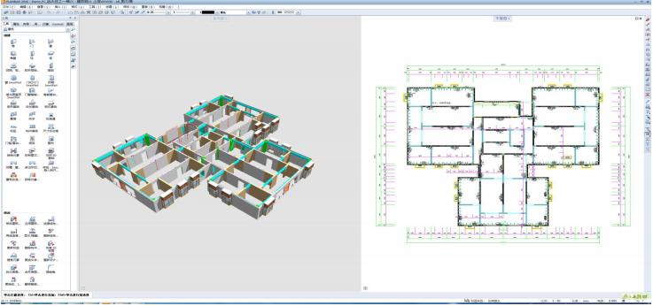 装配式核心建模planbar 软件