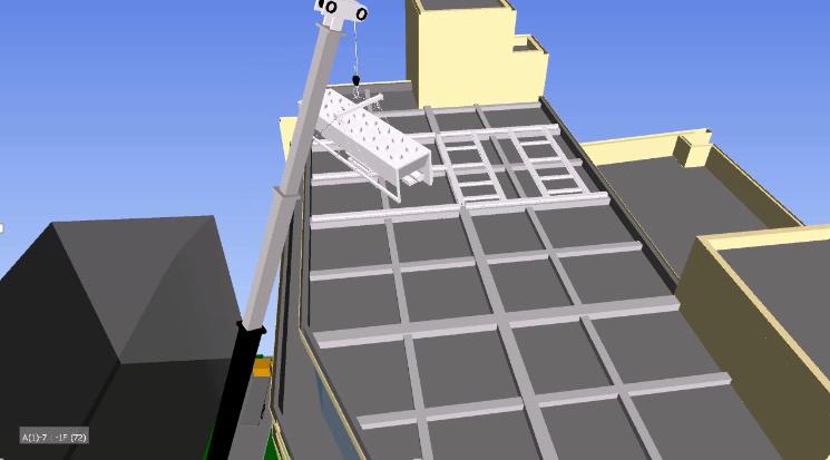 建筑BIM解决方案施工阶段——施工工艺模拟、施工方案模拟