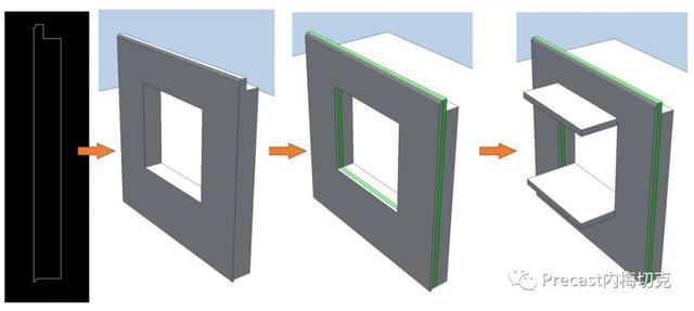 Planbar如何制作带飘窗的夹心墙板?