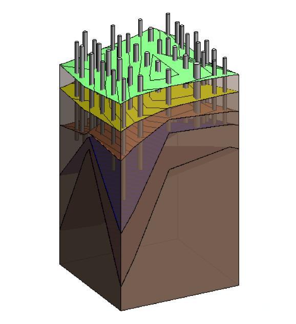 基于BIM地质模型的工程桩桩长分析