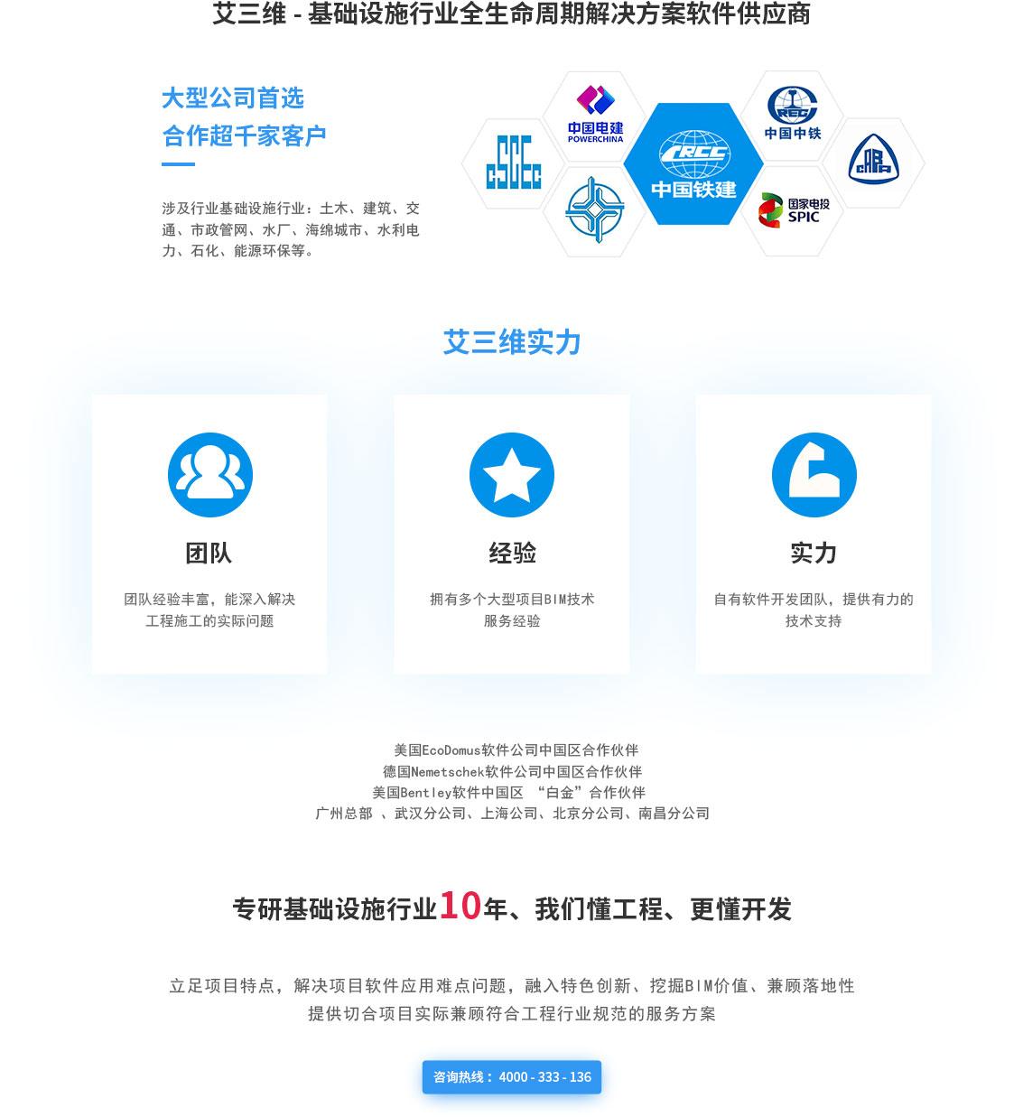 BIM平台定制开发 咨询热线4000333136