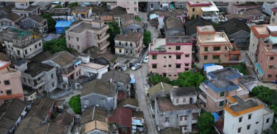 三维实景建模-古镇实景模型