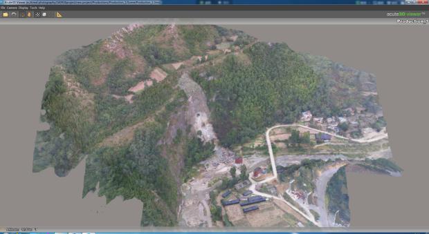 无人机航拍实景模型