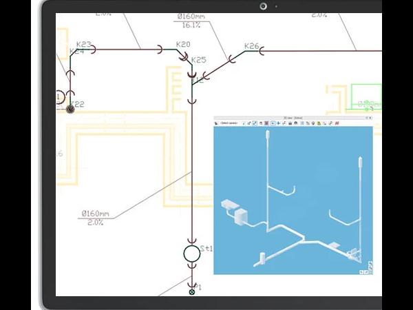 ArCADia-GAS内部气体系统设计BIM软件