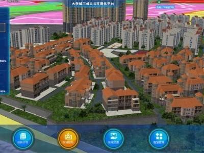 智慧城市/园区三维GIS可视化平台