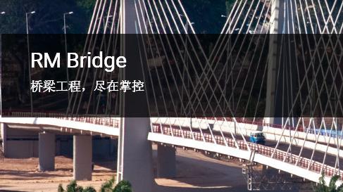 RM Bridge桥梁设计、分析和施工软件简介及功能