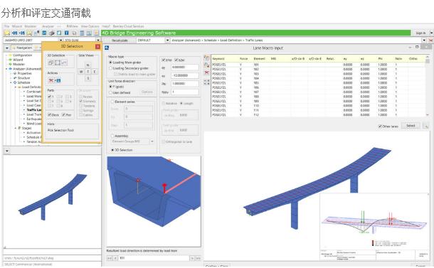 RM Bridge桥梁设计、分析和施工软件