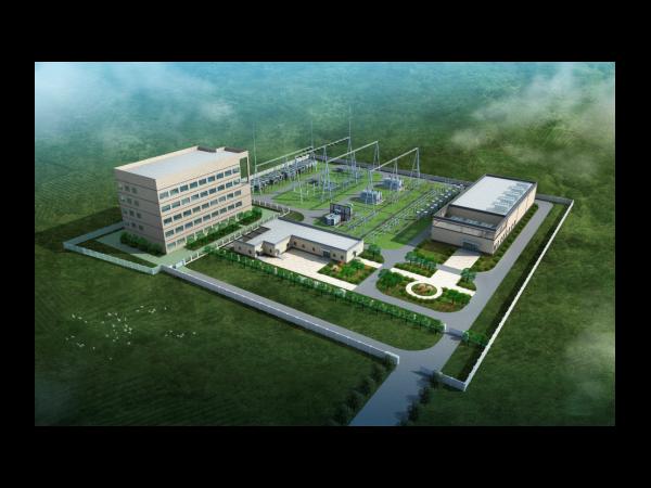 变电站三维建模设计方案