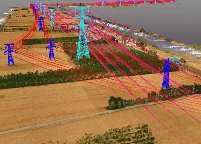 输电线路实景三维测量倾斜摄影与激光雷达技术对比