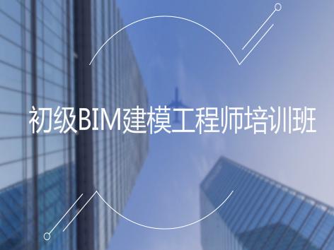 初级BIM建模工程师培训班