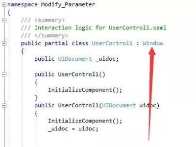 BIM二次开发-利用WPF创建简单的界面
