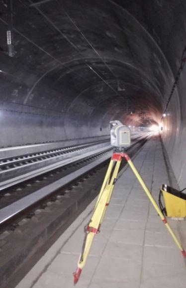 三维扫描技术在隧道施工中的应用