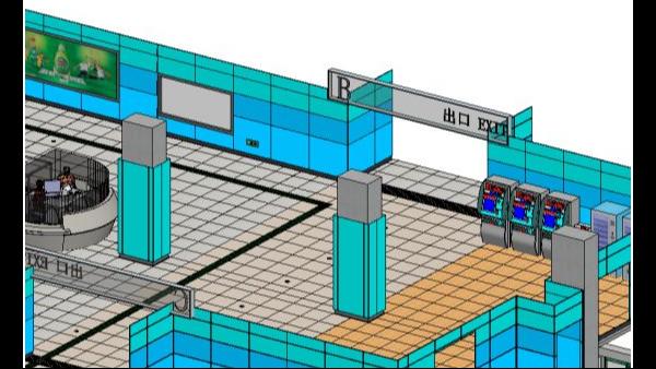BIM技术在青岛地铁1号线施工阶段的应用分享