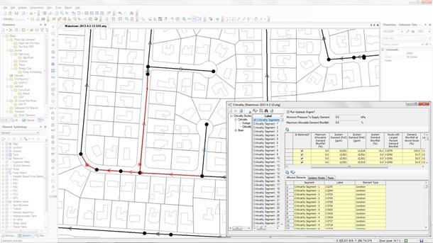 WaterGEMS给水管网分析和设计软件
