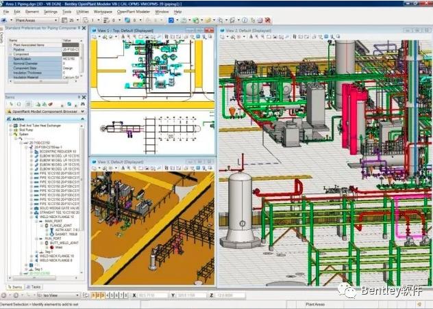三维工厂设计软件OpenPlant Modeler究竟有多强?