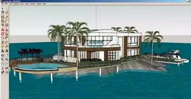 建筑行业设计用到的三维几何建模软件