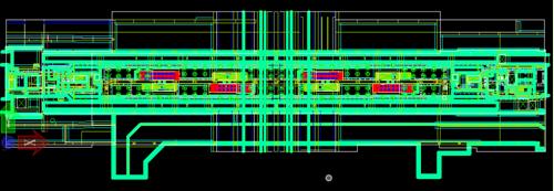管线综合平立面节点出图-武汉地铁BIM项目机电平面施工图出图