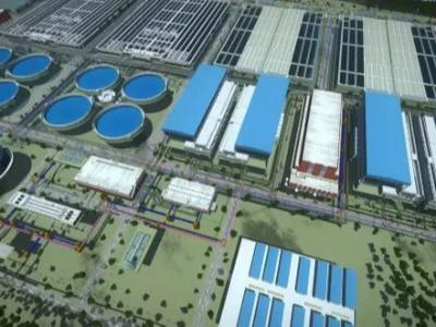 北湖污水厂处理流程漫游动画