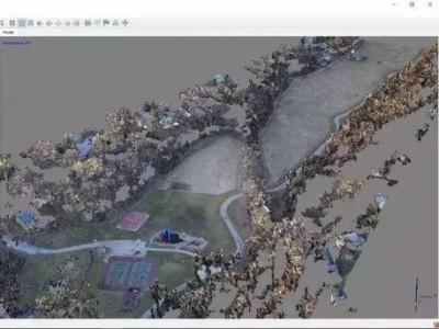 无人机航拍照片数据的处理和3D建模