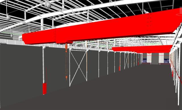 石材城钢结构厂房施工项目