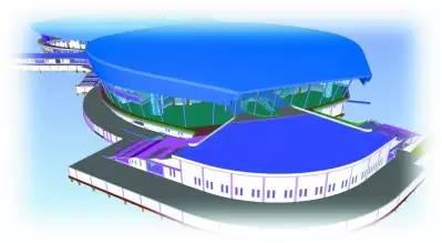 青奥体育公园市级体育中心BIM技术的应用
