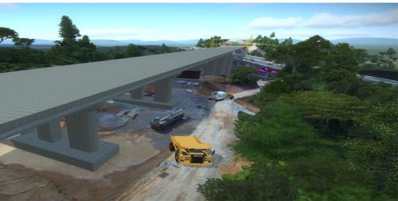 BIM技术在蒙华铁路工程杨家岭大桥工程中的应用