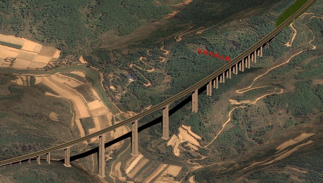 BIM技术在旬邑至陕甘界高速公路项目中的应用