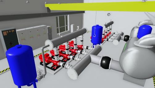 BIM技术应用到锅炉房中