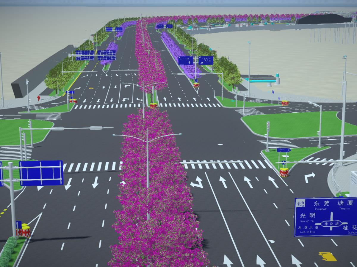 BIM技术在深圳泗黎路交通改造工程中的应用