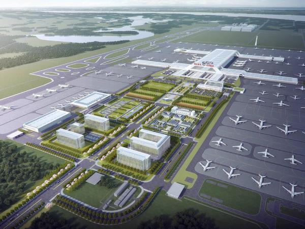 BIM施工深化设计在鄂州机场转运中心中的应用成果